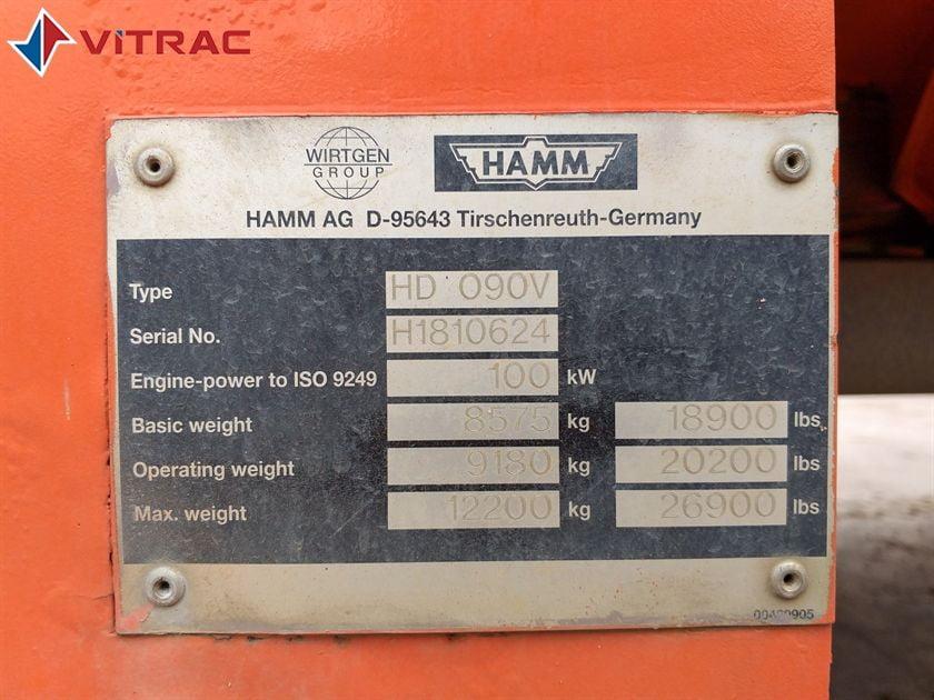 HAMM HD 90 VO - 2008