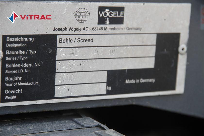 MÁY TRẢI NHỰA VOEGELE S1800-2